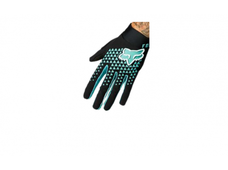 Gants long été Fox Defend Noir/Turquoise - 2021