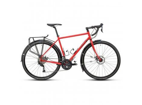 Vélo de voyage Ridgeback Panorama Rouge - 2021