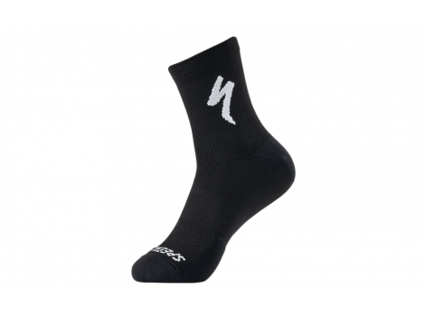 Chaussettes Specialized SOFT AIR ROAD Noir/Blanc - 2021
