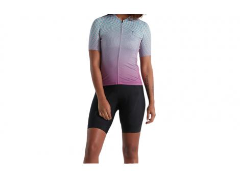 Maillot manches courtes Femme Specialized SL Bicycledelics Violet/Bleu - 2021