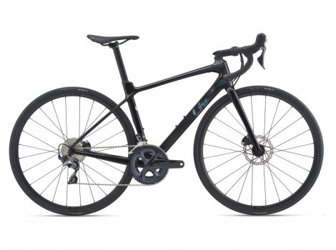 Vélo de route Femme Liv Langma Advanced 1 Disc Noir - 2021