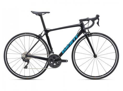 Vélo de route Giant TCR Advanced 2 pro Compact Noir - 2021