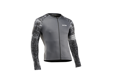 Maillot vélo manches longues Northwave Blade Gris - 2021