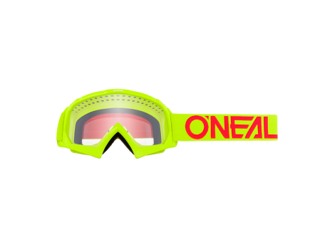 Masque Junior O'neal B-10 Solid Jaune/Rouge - 2021