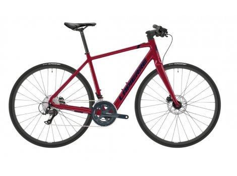 Vélo fitness électrique Lapierre E-Sensium 2.2 Flat Rouge - 2021