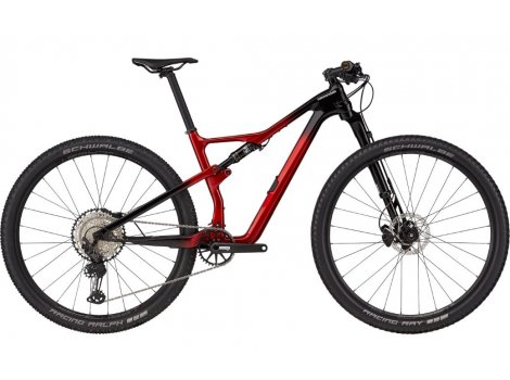 VTT Cannondale Scalpel Carbon 3 Rouge - 2021