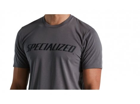 T-shirt Specialized Wordmark Gris - 2021