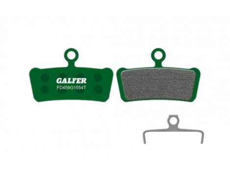 Plaquettes de frein Galfer PRO Vert - Compatible AVID X0 Trail, Elixir 7 et 9 Trail/SRAM Guide R, RS, RSC, Ultimate et G2