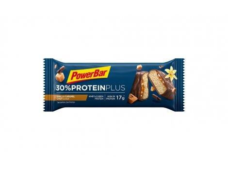Barre POWER BAR 30% ProteinPlus - Caramel/Vanille/Crips - 2021