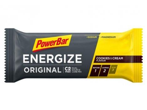 Barre POWER BAR Energize C2MAX Original - Cookies&Cream - 2021