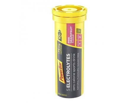 Boissons POWER BAR 5Electrolytes - Pamplemousse rose (Caféine) - 21