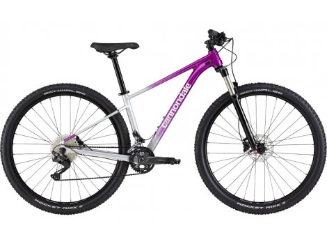 VTT Femme Cannondale Trail SL 4 Gris/Violet - 2021