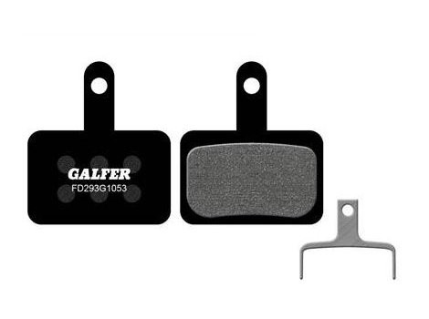 Plaquettes de frein Galfer Noires compatibles Shimano Type B01S