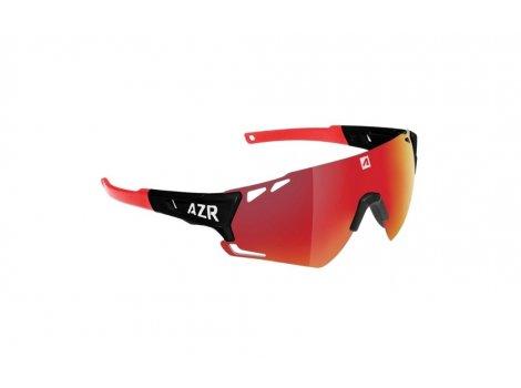 Lunettes de vélo AZR Vuelta RX Noire Mat - Ecran rouge multicouche - 4053