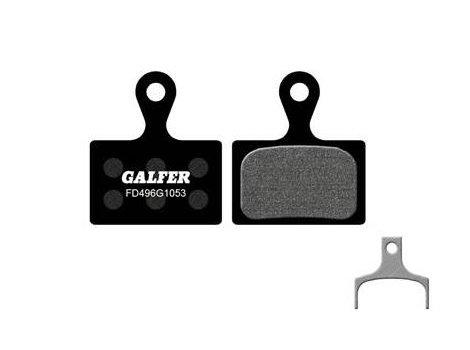 Plaquettes de frein Galfer Noires compatibles Shimano FD496 ULTEGRA