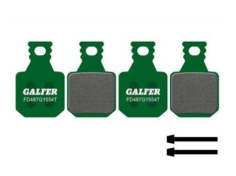Plaquettes de frein Galfer vertes compatibles Magura MT5 MT7