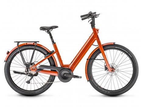 Vélo Moustache Lundi 27.1 Noir 400Wh - 2021