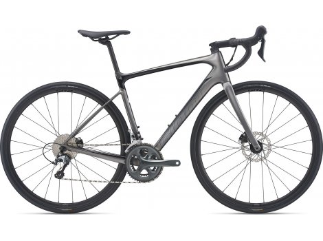 Vélo de route Giant Defy Advanced 3 Noir - 2021