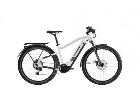 VTC électrique HAIBIKE Trekking 8 Blanc 630Wh - 2021