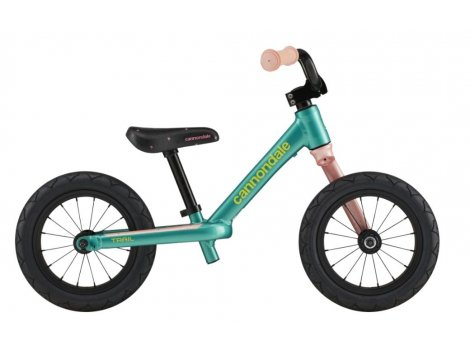 """Draisienne Cannondale 12"""" Turquoise - 2021"""