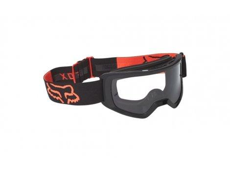 Masque VTT Junior Fox MainStray Noir/Orange 2022