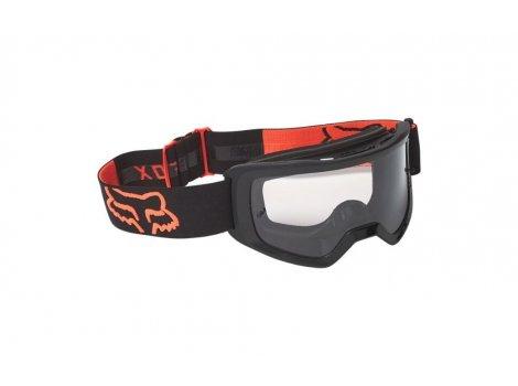 Masque VTT Fox Main Stray Noir/Orange 2022