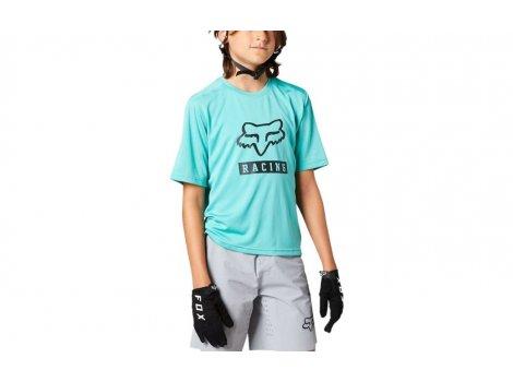 Maillot manches courtes Enfant FOX Ranger Turquoise 2022