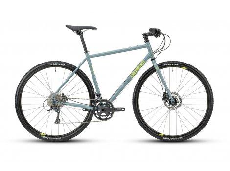 Vélo Gravel Genesis Croix de Fer 10 Fitness bleu - 2021