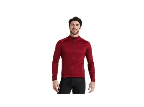 Veste Homme Specialized Maroon RBX Sofshell - 2022