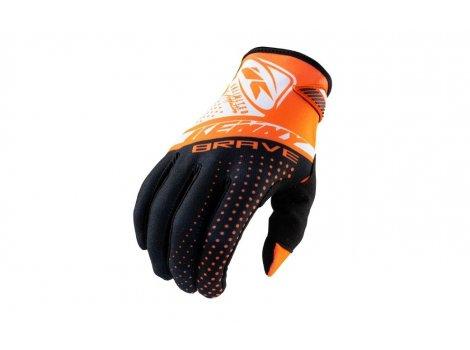 Gants long VTT KENNY Brave Orange