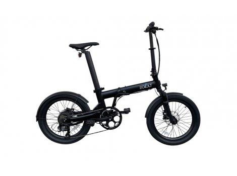 Vélo pliant EOVOLT Confort X Noir - 2021