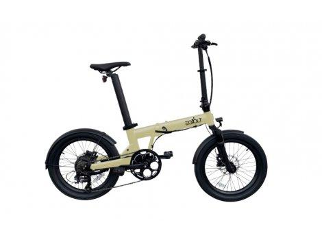 Vélo pliant EOVOLT Confort X Beige - 2021