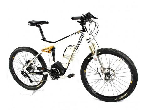 Vélo VTTAE Tout Suspendu Haibike EQ Xduro RC 400Wh M - Occasion Bon Plan