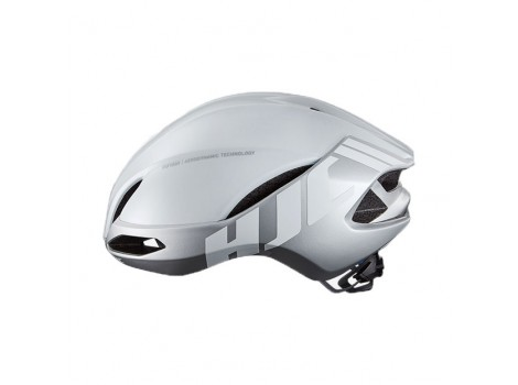 Casque vélo HJC FURION Blanc Argent Glossy