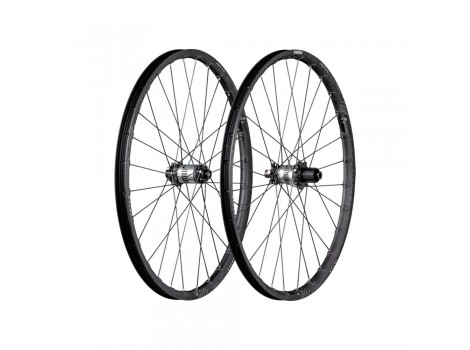 "Paire de Roues Vélo VTT Bontrager Rhythm Elite 27.5"" - Axe Av 15x100 - Axe Ar 12x142"