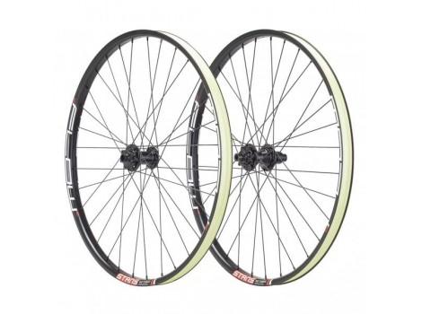 """Paire de Roues Vélo VTT Stan's Notubes ZTR Flow MK3 27.5"""" - Axe Av 15x100 - Axe Ar 12x142"""