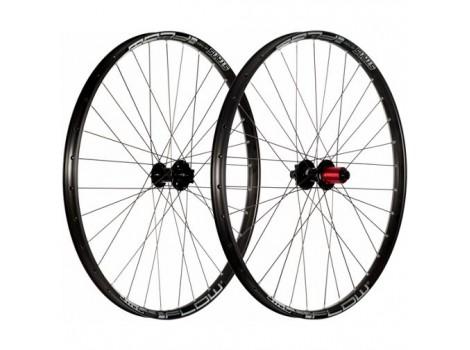 "Paire de Roues Vélo VTT Stan's Notubes ZTR Flow S1 27.5"" - Axe Av 15x110 - Axe Ar 12x148"