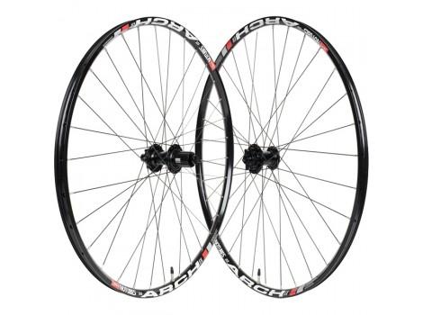 """Paire de Roues Vélo VTT Stan's Notubes ZTR Arch Ex Neo 27.5"""" - Axe Av 15x100 - Axe Ar 12x148"""