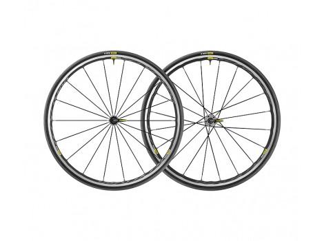 Paire de Roues Vélo Route Mavic Ksyrium Elite UST avec Pneus