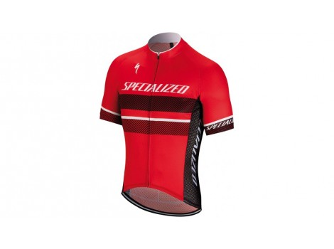 Maillot vélo manches courtes Specialized RBX Comp Rouge