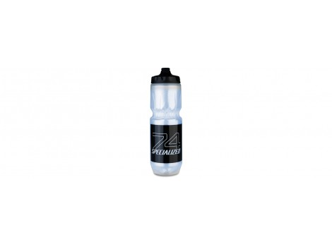 Bidon Specialized Purist isotherme Translucide-Noir - 680 ml