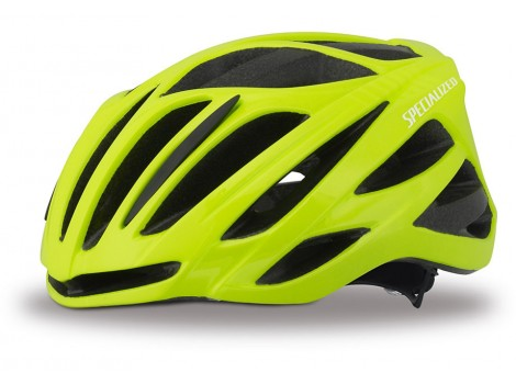 Casque vélo Specialized Echelon II jaune Safety Ion