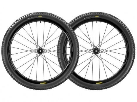 """Paire de Roues Vélo VTT Mavic XA Pro Carbon 27.5"""" - Axe Av 15x110 - Axe Ar 12x148"""