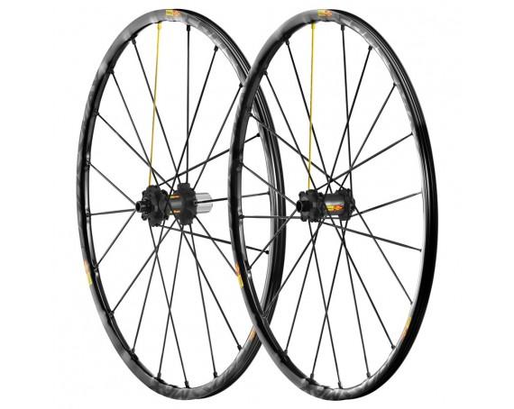 "Paire de Roues Vélo VTT Mavic Crossmax SL 27.5"" - Axe Av 15x100 - Axe Ar 12x142"