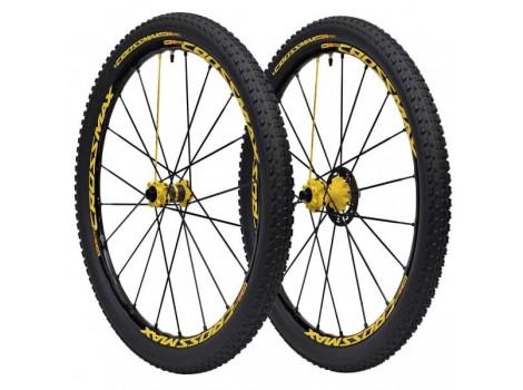 "Paire de Roues Vélo VTT Mavic Crossmax SL Pro LTD 27.5"" - Axe Av 15x100 - Axe Ar 12x135"