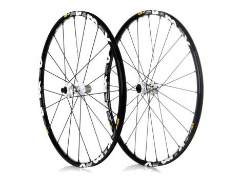 "Paire de Roues Vélo VTT Mavic Crossmax ST 29"" - Axe Av 15x100 - Axe Ar 12x142"
