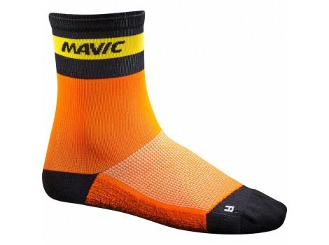 Chaussettes vélo Mavic Ksyrium Carbon orange