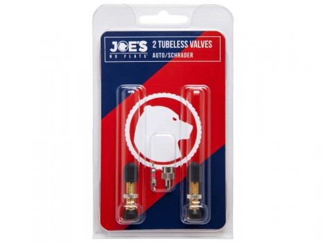 Valve Schrader Tubeless Joe's No-Flats - 36 mm