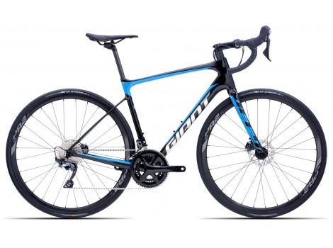 Vélo route Giant Defy Advanced 1 - 2019