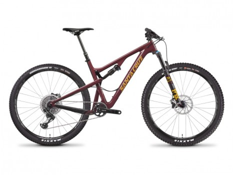 VTT Santa Cruz Tallboy Carbon XO1 Bordeaux - 19